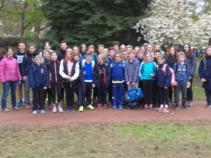 Die IGI-Läufergruppe